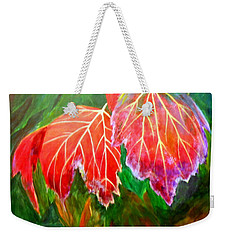 Autumn's Dance Weekender Tote Bag