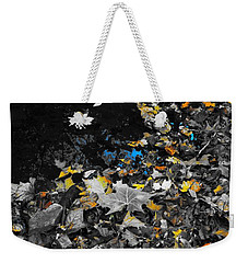 Autumn's Last Color Weekender Tote Bag by Photographic Arts And Design Studio