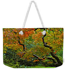 Autumn's Paintbrush Weekender Tote Bag