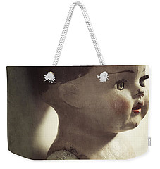 Weekender Tote Bag featuring the photograph Ava by Amy Weiss