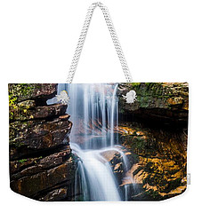 Weekender Tote Bag featuring the photograph Avalanche Falls2 by Mike Ste Marie