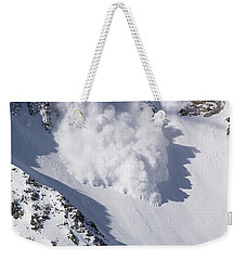 Avalanche IIi Weekender Tote Bag by Bill Gallagher