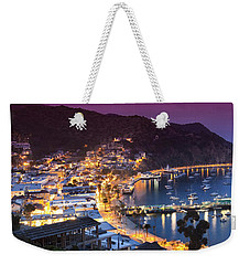 Avalon Sunset Weekender Tote Bag