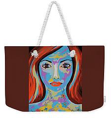 Avani - Contemporary Woman Art Weekender Tote Bag