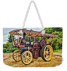 Aveling And Porter Showmans Tractor Weekender Tote Bag