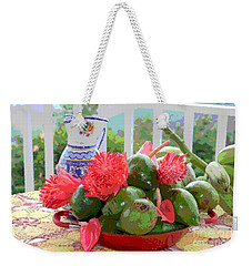 Weekender Tote Bag featuring the photograph Avocados by The Art of Alice Terrill