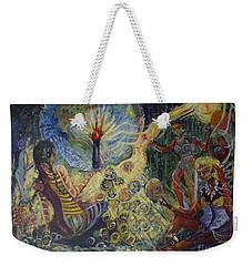 Avonelle's Tribe Weekender Tote Bag by Avonelle Kelsey