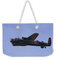 Avro 638 Lancaster At The Royal International Air Tattoo Weekender Tote Bag by Paul Fearn