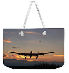 Avro Lancaster - Dawn Return Weekender Tote Bag