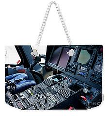 Aw139 Cockpit Weekender Tote Bag