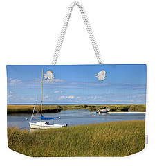 Weekender Tote Bag featuring the photograph Awaiting Adventure by Gordon Elwell