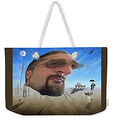 Awake . . A Sad Existence Weekender Tote Bag by Mike McGlothlen