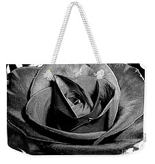 Awakened Black Rose Weekender Tote Bag by Nina Ficur Feenan