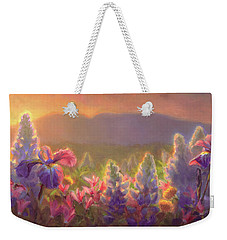 Awakening - Mt Susitna Spring - Sleeping Lady Weekender Tote Bag