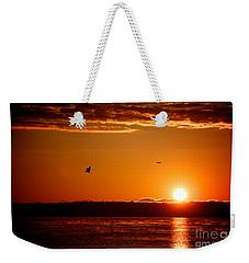 Awakening Sun Weekender Tote Bag