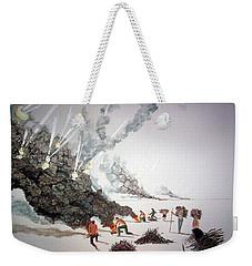 Awakenings Weekender Tote Bag by Lazaro Hurtado
