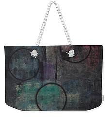Aware Of Silence Weekender Tote Bag by Mini Arora