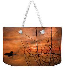 Away Home Weekender Tote Bag