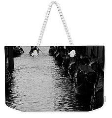 Weekender Tote Bag featuring the photograph Away - Venice by Lisa Parrish