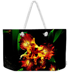 Awesome Iris Weekender Tote Bag