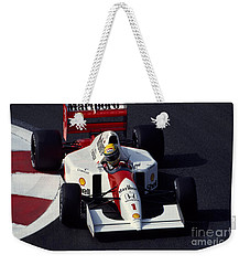 Ayrton Senna. 1992 French Grand Prix Weekender Tote Bag