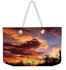 Az Monsoon Sunset Weekender Tote Bag
