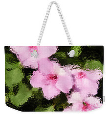 Azaelas Under Glass Weekender Tote Bag