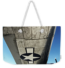 B 17 Sentimental Journey Weekender Tote Bag