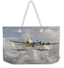 B17 486th Bomb Group Weekender Tote Bag