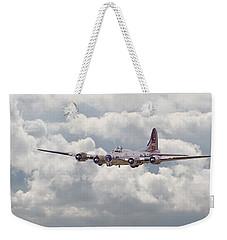 B17- Yankee Lady Weekender Tote Bag by Pat Speirs