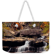 Babcock Grist Mill And Falls Weekender Tote Bag by Jerry Fornarotto