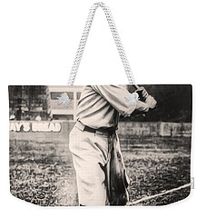 Babe Ruth Weekender Tote Bag by Bill Cannon