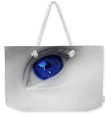 Baby Blue Weekender Tote Bag by Nina Ficur Feenan