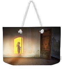 Baby Do Not Open That Door Weekender Tote Bag