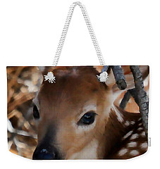 Baby Face Fawn Weekender Tote Bag