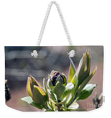 Baby Lilac Weekender Tote Bag