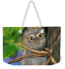Baby Owls Weekender Tote Bag