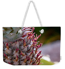 Baby White Pineapple Weekender Tote Bag