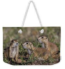 Baby Prairie Dogs Weekender Tote Bag
