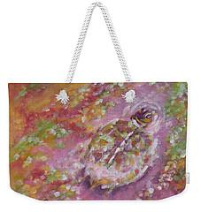 Baby Turtle Chroma Weekender Tote Bag