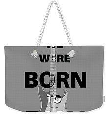 Baby We Were Born To Run Weekender Tote Bag by Gina Dsgn