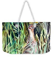 Baby Wild Turkey Weekender Tote Bag by Mindy Newman