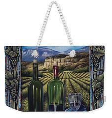 Bacchus Vineyard Weekender Tote Bag
