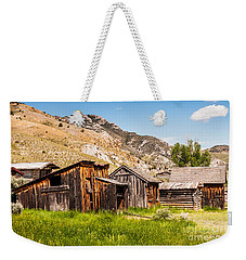 Bachelors Row Weekender Tote Bag by Sue Smith