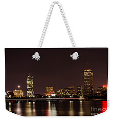 Weekender Tote Bag featuring the photograph Back Bay At Night by Mike Ste Marie