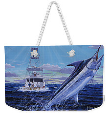 Back Her Down Off00126 Weekender Tote Bag by Carey Chen
