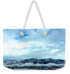 Back In Bozeman Weekender Tote Bag by M West