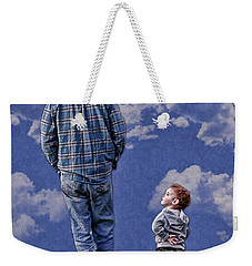 Weekender Tote Bag featuring the photograph Back In The Day by Denise Romano
