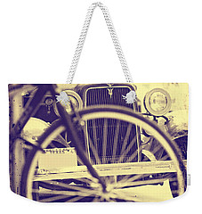 Back In Time Weekender Tote Bag
