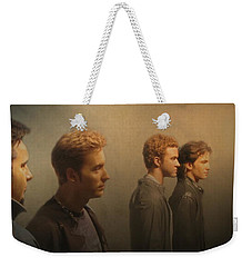 Back Stage With Nsync Weekender Tote Bag